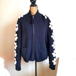 Tory Burch Chunky Knit Cardigan